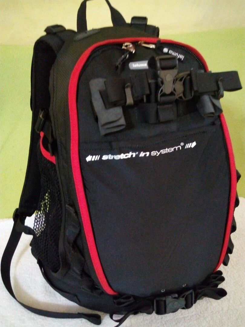 c01b2eec9cf5 Lafuma 4810 Backpack with Stretch in Technology