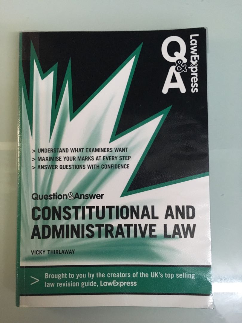 law express question and answer constitutional and administrative law law express questions answers