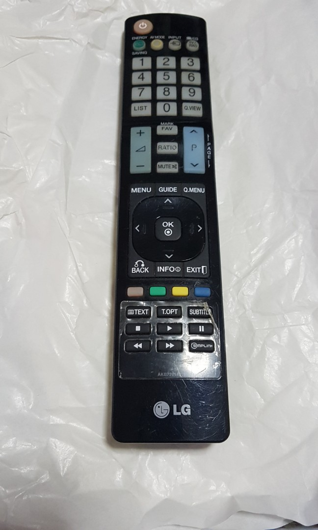 LG Smart TV Remote Control