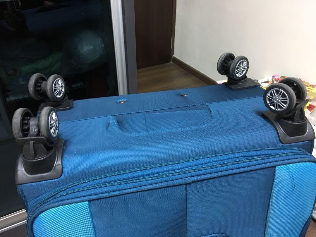 Light weight soft case luggage, Travel, Travel Essentials