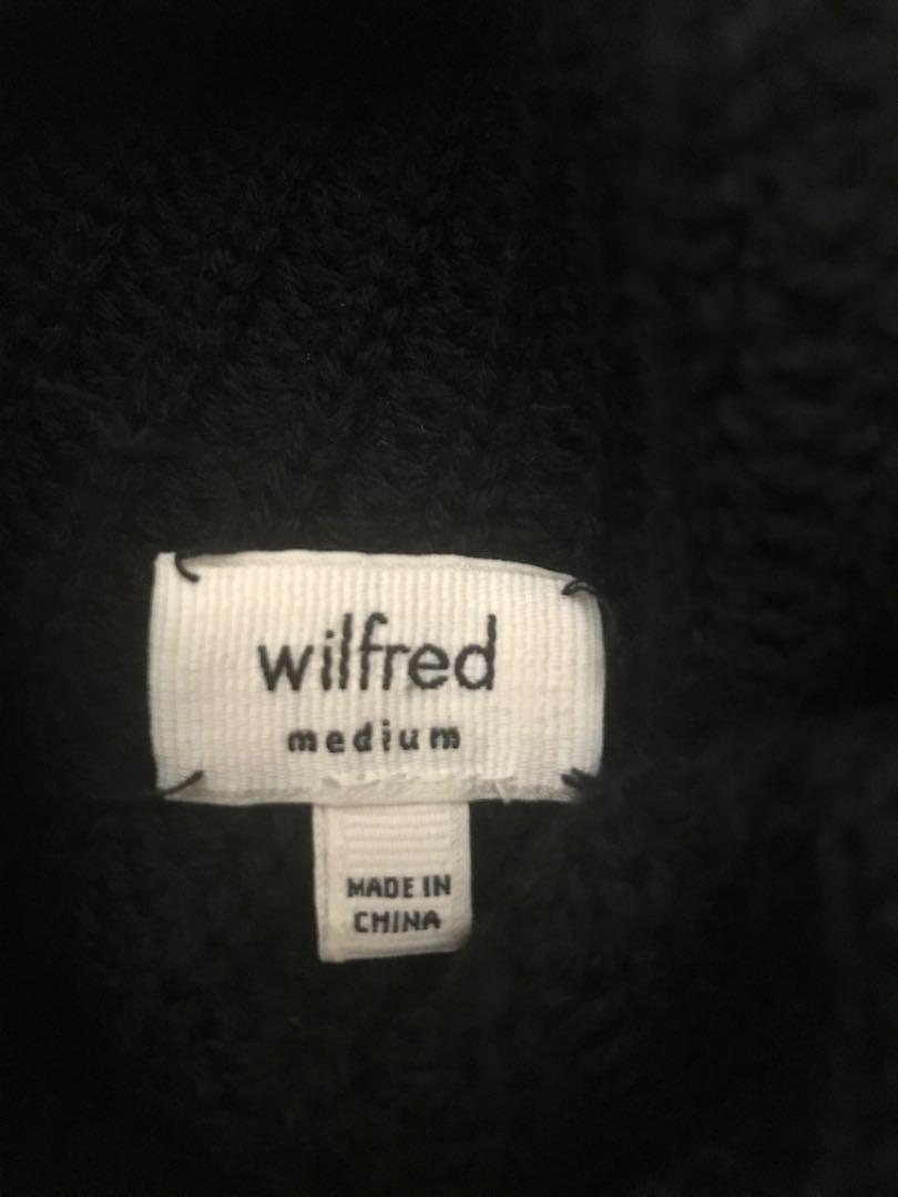 LIKE NEW Wilfred Montpellier Sweater Medium Black