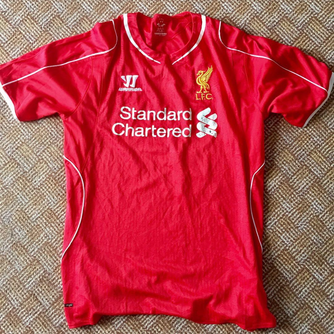 the latest a3749 d9457 Liverpool FC Warrior Jersey, Sports, Sports Apparel on Carousell