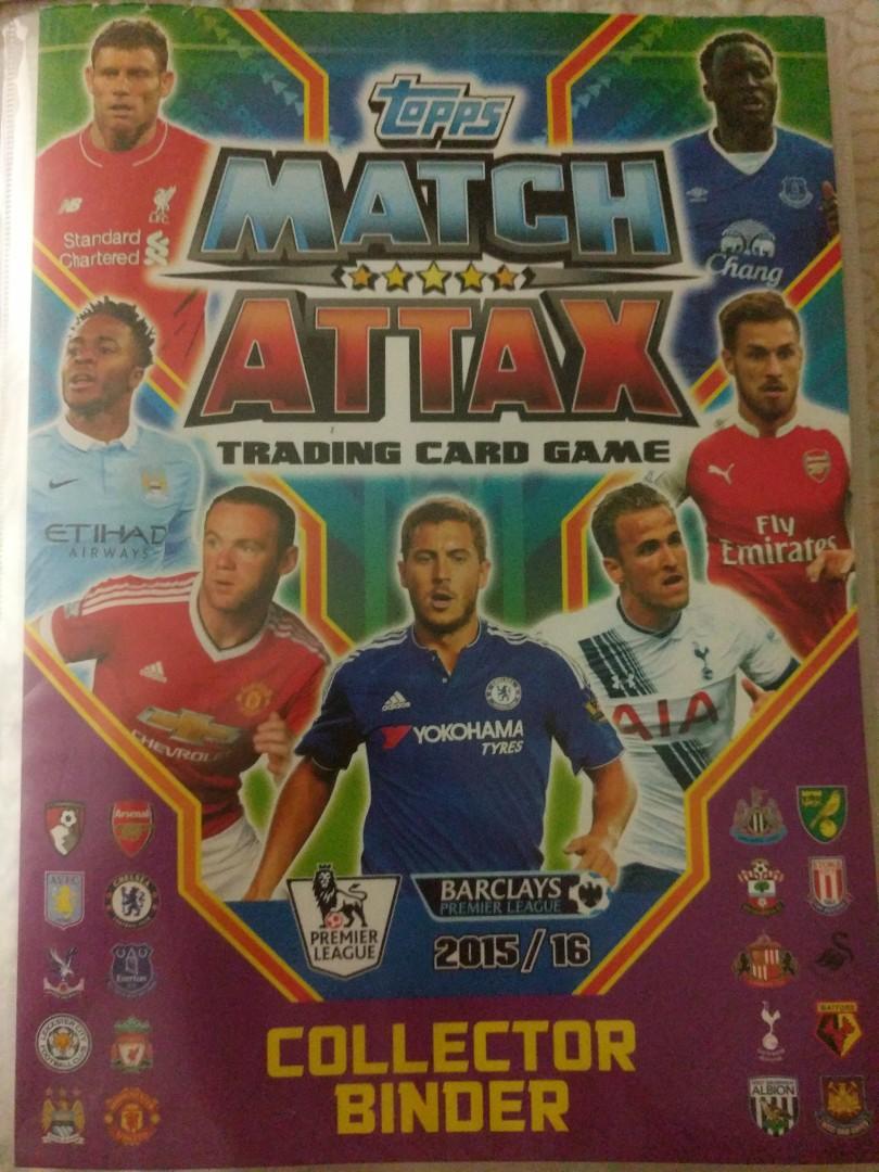 Match Attax 20152016 Collection