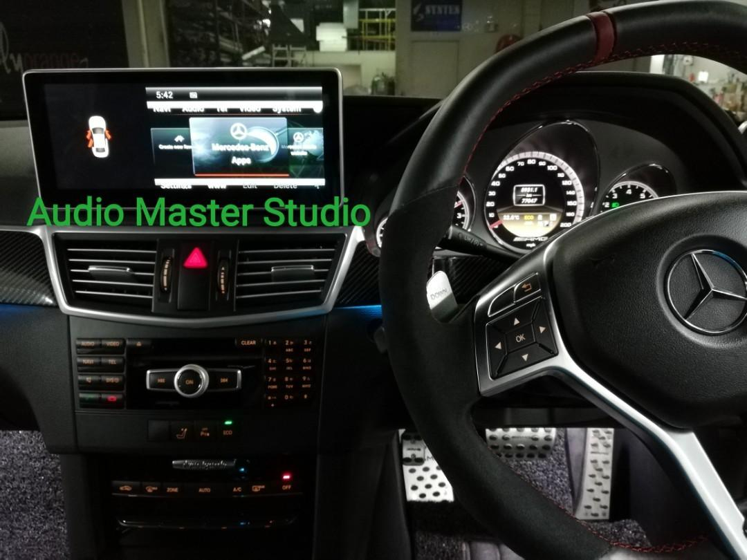 Mercedes w212 10 2 inch touch screen with Android, Car