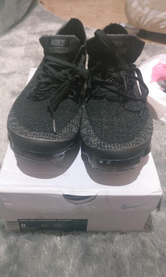 Nike Air Vapormax Flyknit Black/Anthracite