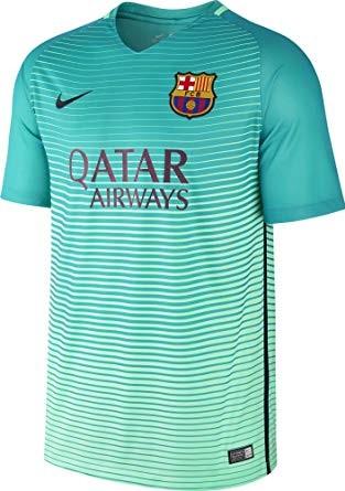 04254e9d5 SUPER SALE  NIKE FC Barcelona Stadium Third Soccer Jersey (Size M ...