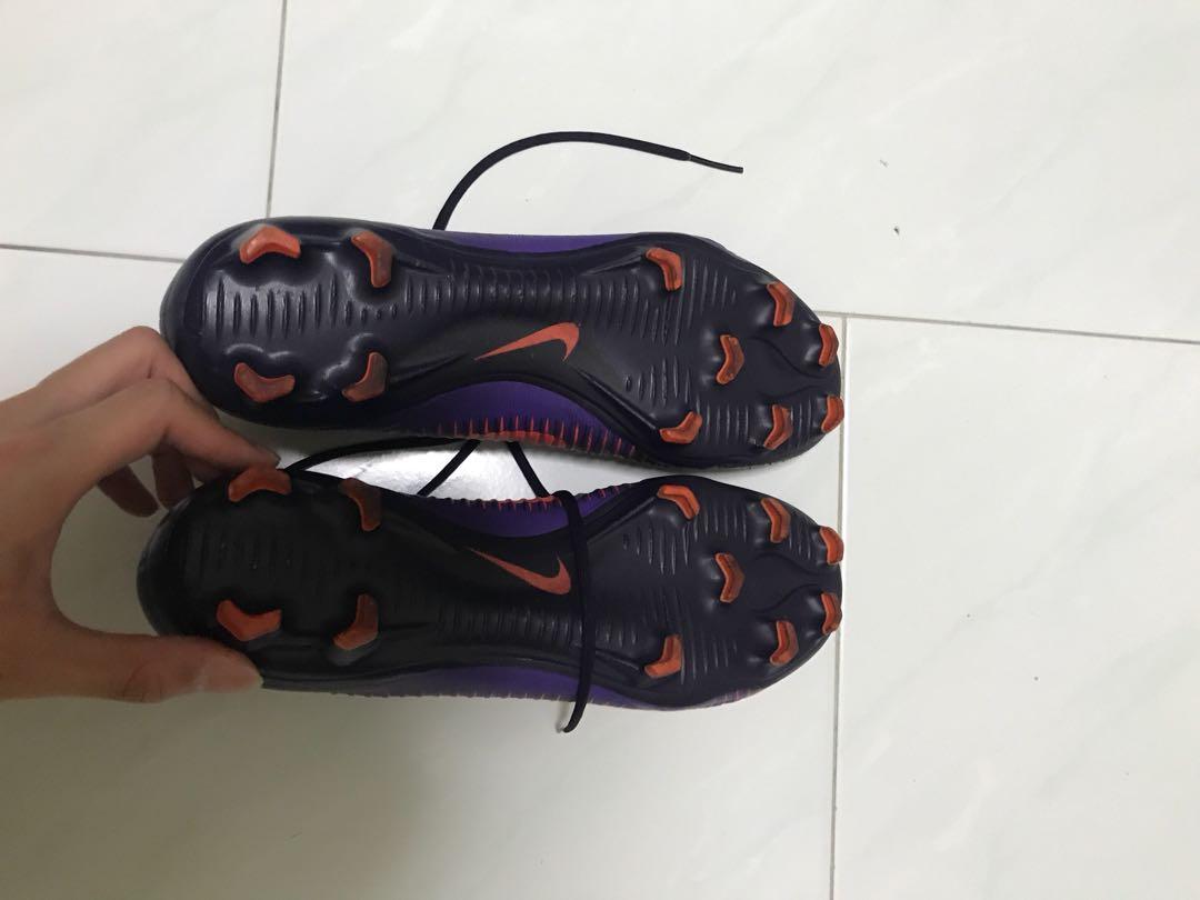 1fc966e5214f Nike Mercurial Vapor XI FG Soccer Cleats (Purple Dynasty), Sports ...