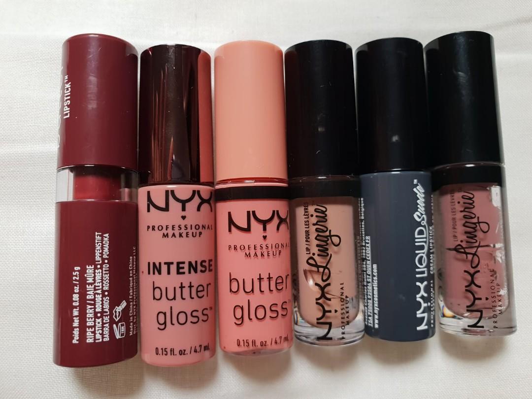 NYX Lipsticks Bundle (Nude)