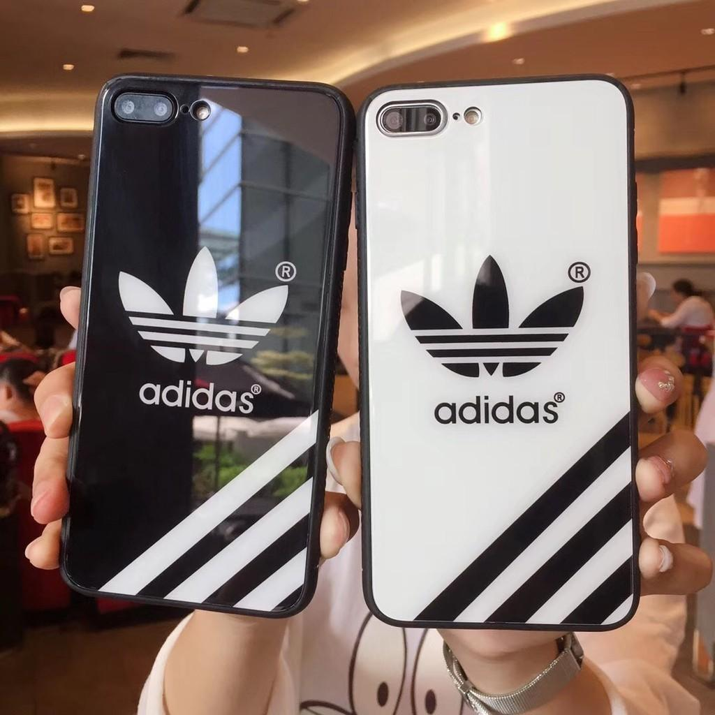 Po Adidas Mirror Glass Phone Case Mobile Phones Tablets Mobile