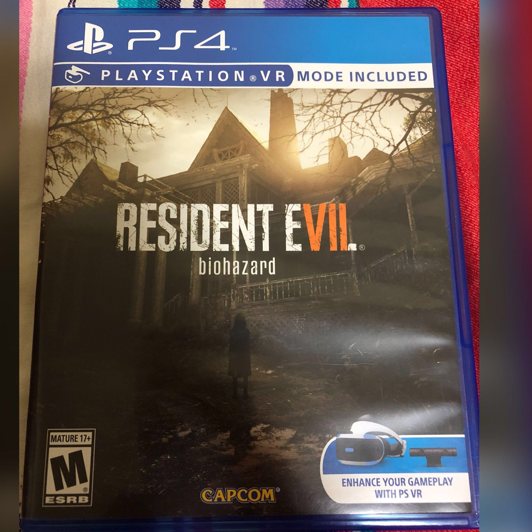 Resident Evil 7 Biohazard VR Compatible PS4 Game Playstation 4 PS 4
