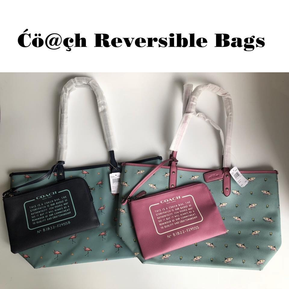 a4cd4b171a00c Sale! Coach reversible tote bag, Luxury, Bags & Wallets, Handbags on ...