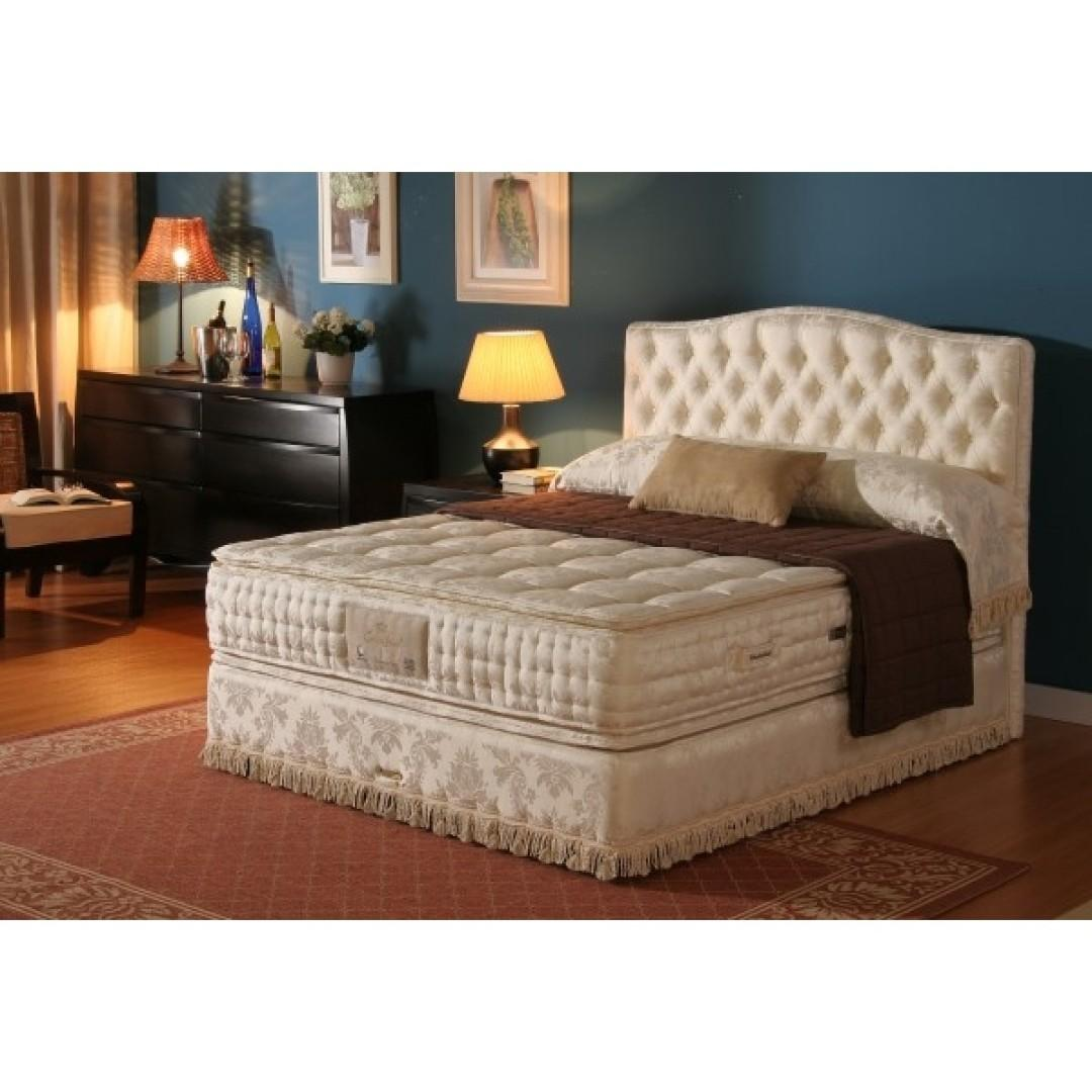 newest ee4a6 e011a Slumberland KING SIZE BED FRAME [Foldable], Furniture, Beds ...