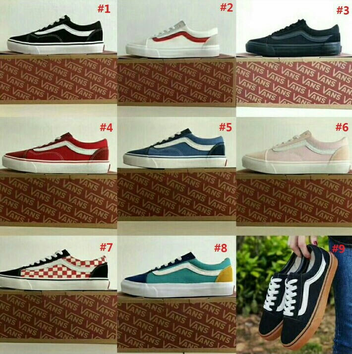 234c8b1650 Sneakers OLD SKOOL Canvas 9 Colours