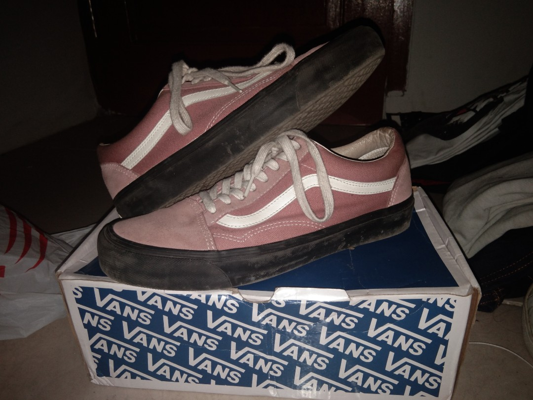 84a550435a82 Vans Old Skool OG LX Ash Rose