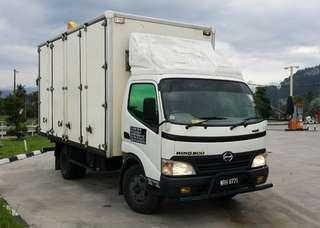 Perkhidmatan lori lorry mover (AraMover)