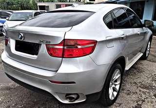 2012 BMW X6 3.0D XDRIVE DIESEL TWIN TURBO SAMBUNG BAYAR CAR CONTINUE LOAN