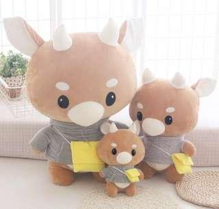 [PO] Secretary Kim Cow Plush Toy 70CM