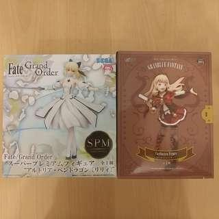 Fate SPM Saber Sega 世嘉日本景品
