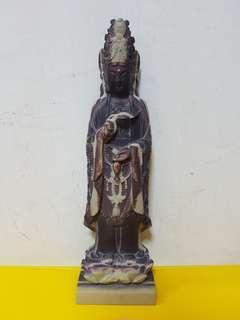 玉袍石关音(30cm)