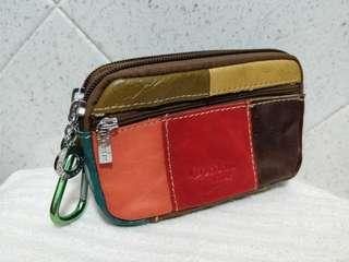 Leather pouch - medium small