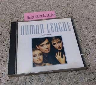 ( CD ) HUMAN LEAGUE GREATEST HITS