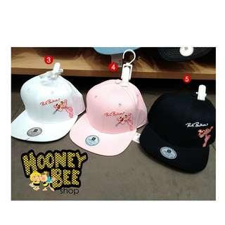 Original Miniso - Topi Pink Panther Top Cap 58cm