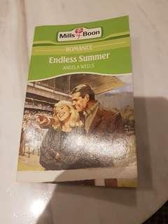 英文小說: Mills&Boon Endless Summer (Angela Wells)