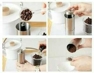 Mesin Manual Gilingan Kopi Grinder Coffee