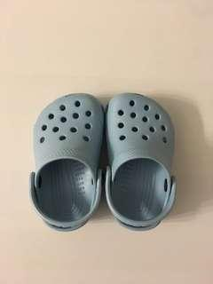 Baby Crocs in Light Blue - Size C2-3