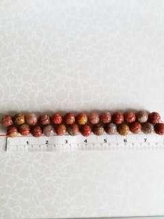 16mm 16吋 瑪瑙 雕刻 珠串