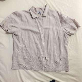 Buttoned Short sleeve top