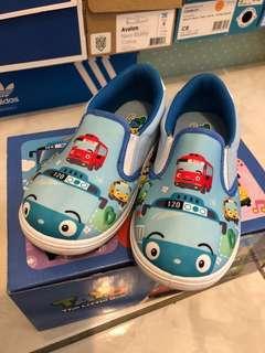 🚚 二手極新 台灣製TAYO懶人鞋童鞋