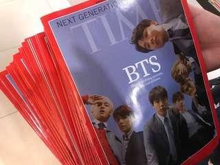 美國時代雜誌 times bts 代購 防彈少年團