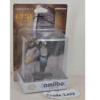 全新 Switch amiibo Figure: Solaire 太場之戰士 (日版)- 玩 NS Dark Souls Remastered 黑暗靈魂 必備神器