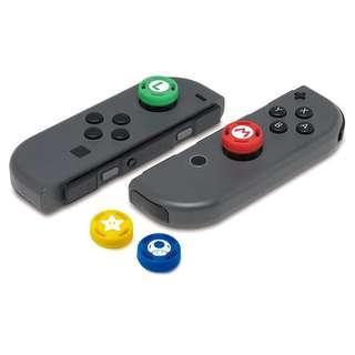 Nintendo Switch Joy-cons Mario Splatoon 2 Thumb Stick Grip Cap