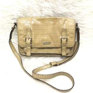 Kate Spade Croco Sling Bag Original