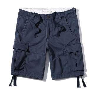 🚚 [二手]A&F 男生工作短褲