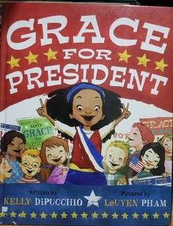 Grace for President hardbound