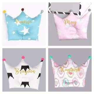 Personalised Baby Pillow