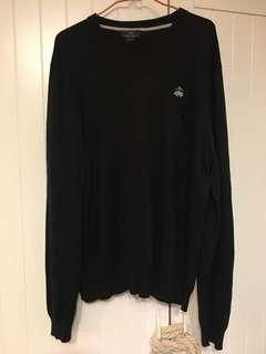 Brooks brothers cashmere sweater 黑色 冷衫