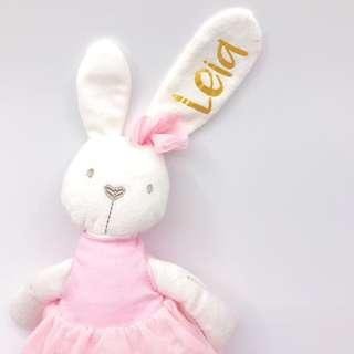 Christmas - Personalised Ballerina Bunny