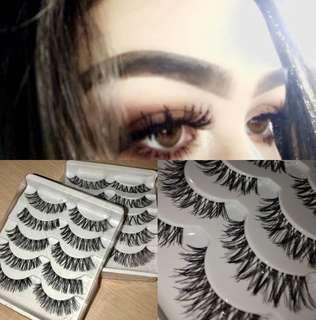 5 pack eyelashes