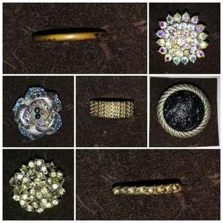 BUNDLE SALE!!! Assorted Fashion Rings