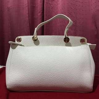Unbranded White Purse from Japan