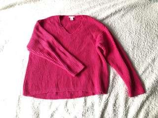 Rose Red Sweater