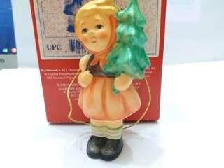Hummel #239/D/0 Girl with Fir Tree Xmas Ornament