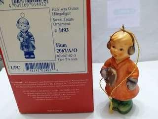Hummel #2067/A/0 Sweet Treats Xmas Ornament