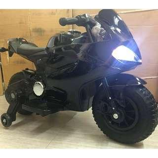 Ducati Type Motorcycle Rubber Tires and Leather Seat Electric Ride On Motor For Kids