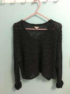 UO ecote cropped sweater