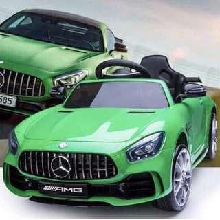 Mercedes Benz FT AMG 998 Leather Seats Electric Ride On Toy Car For Kids
